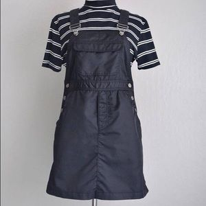 Vintage GAP 90's Nylon Overall Pinafore Dress